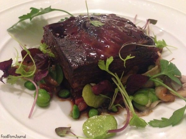 Sage Dining Canberra beef short rib