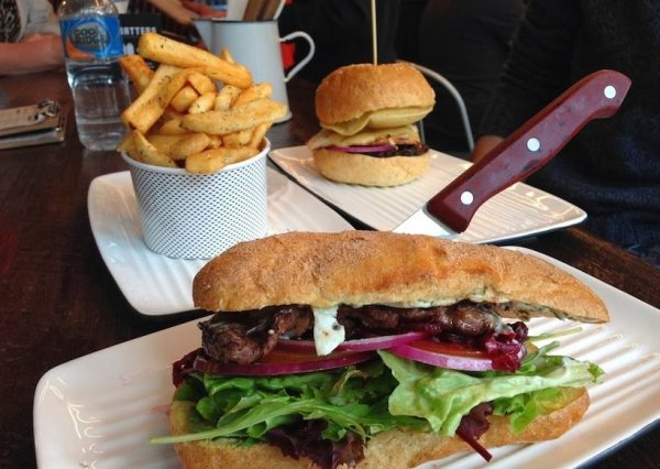 Front bar steak sandwich