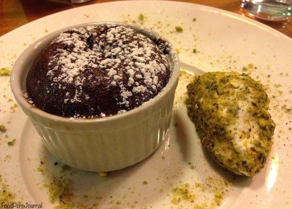 Peppercress chocolate puding
