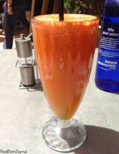 Rodney's Garden cafe juice