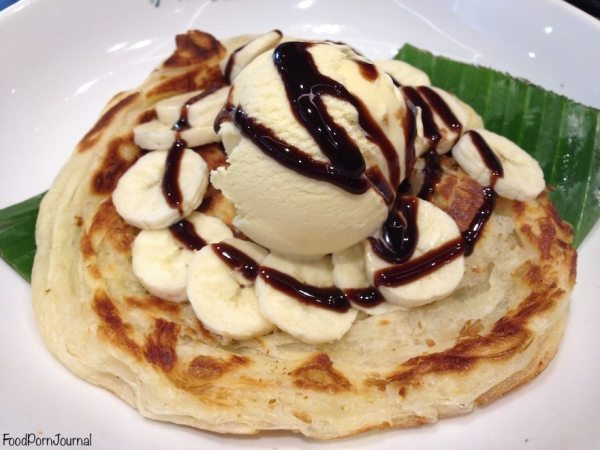 Papparich Canberra roti banana dessert