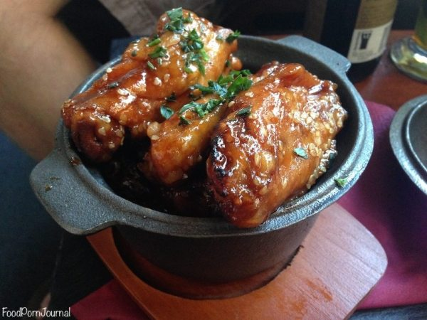Rum Bar Kingston chicken wings