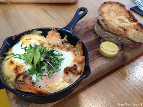 Typika Perth baked eggs