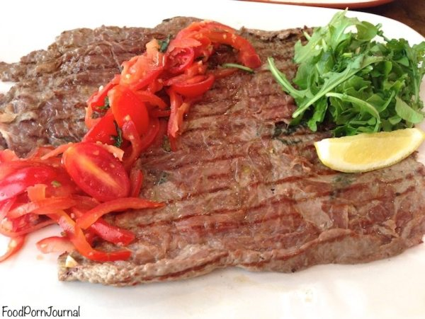 Jamie's Italian veal steak