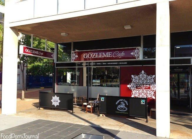 Gozleme Cafe Civic outside