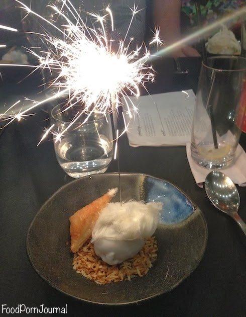 Morks Kingston sweet egg in hay dessert