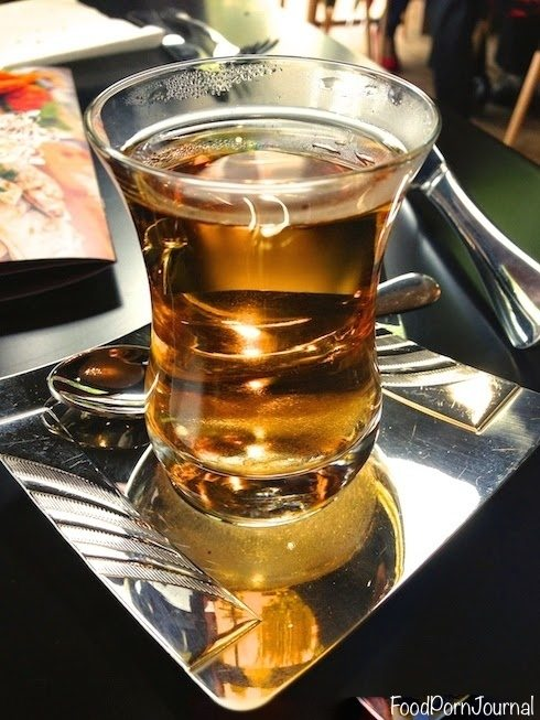 Gozleme cafe turkish apple tea