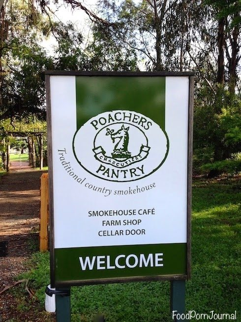Poachers Pantry sign