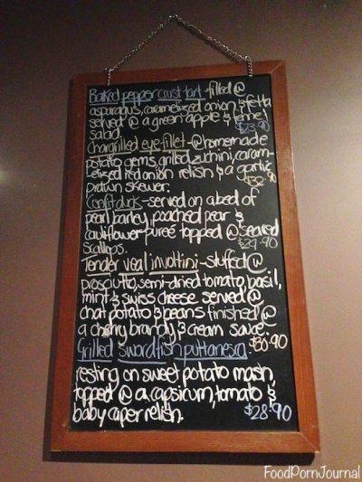 Wilbur's Cafe specials