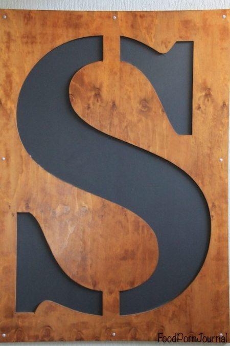 Superfine Cafe Canberra sign