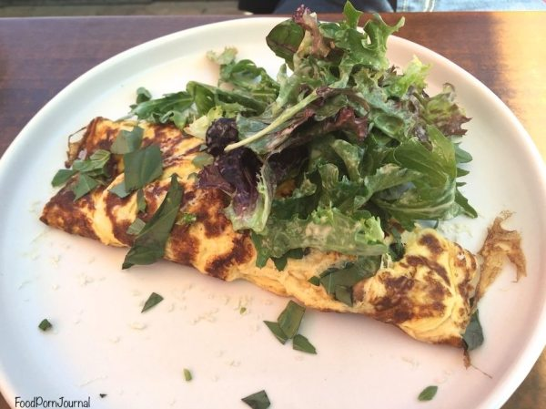 Les Bistronomes Braddon omelette
