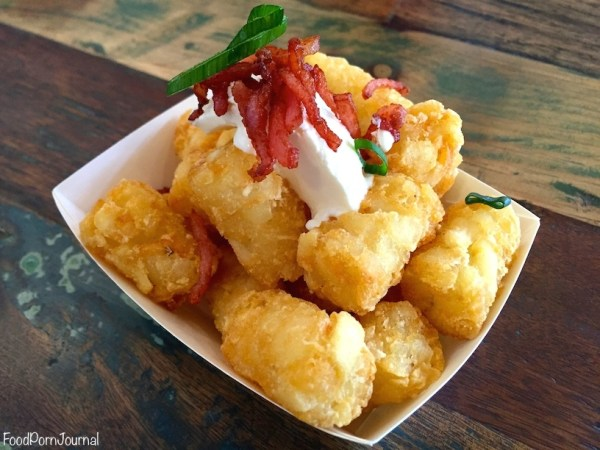 Smoque Woden tater tots