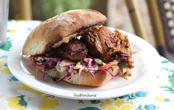 2 Hands Cafe Fyshwick pulled pork burger