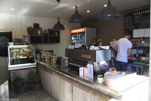 Kickstart Espresso inside