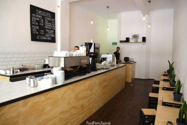 Tupelo Coffee Co Canberra counter