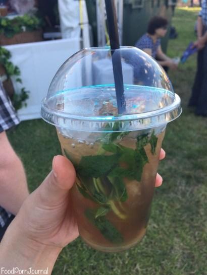 Enlighten Night Noodle Markets mint iced tea