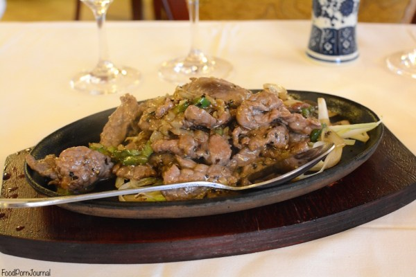 Tang Dynasty Kingston Foreshore steak with black peppercorn