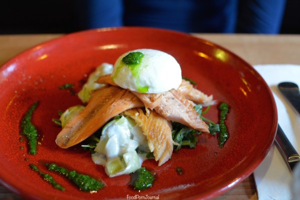 Elemental Braddon trout salad