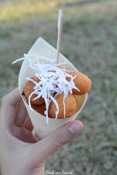 Enlighten Night Noodle Markets Pasar Malam sweet potato balls