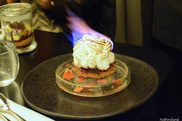 Om Nom Dessert Bar Melbourne bombe alaska