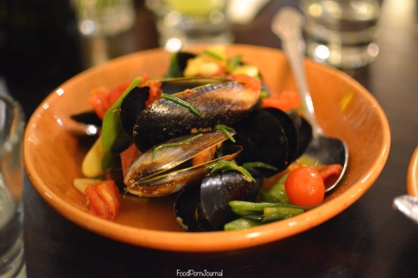 Parlour Wine Room mussels