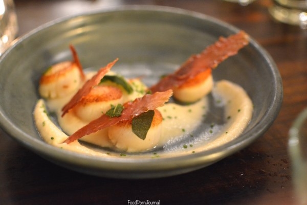Parlour Wine Room scallops