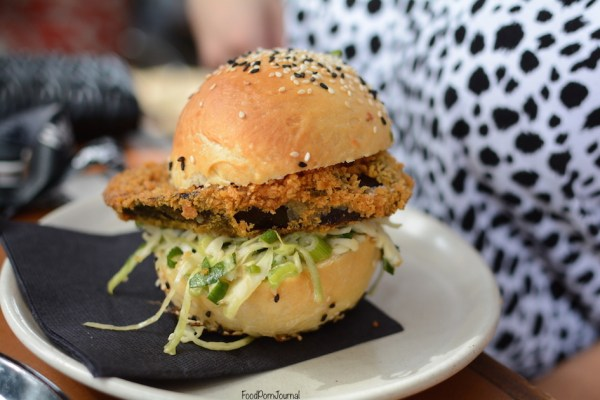 Black Star Pastry eggplant burger