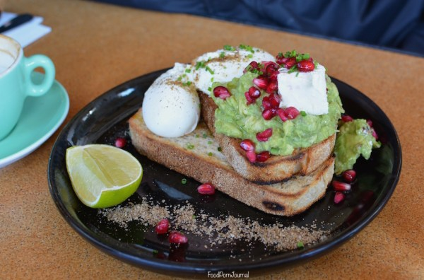 Cupping Room Canberra smashed avo