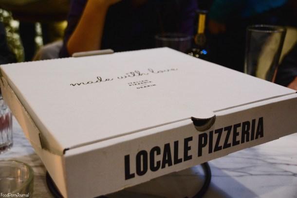 Locale Pizzeria Deakin takeaway pizza