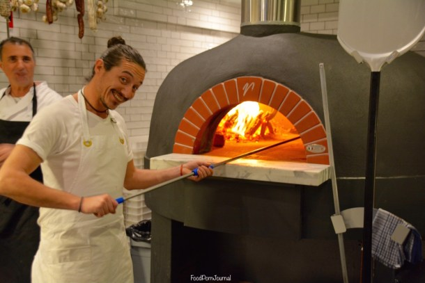 Locale Pizzeria Deakin woodfired pizza oven