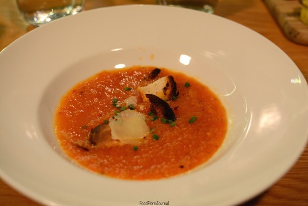 On Red Canberra tomato soup