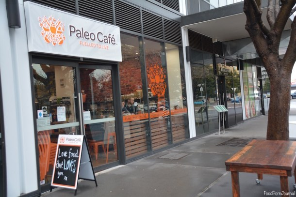 Paleo Cafe Braddon outside