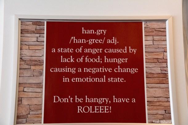 Roleee Braddon signage