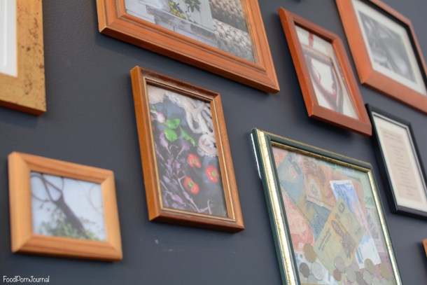 Ellacure frames on wall