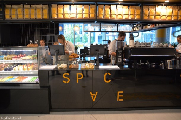 Space Kitchen Woden front counter
