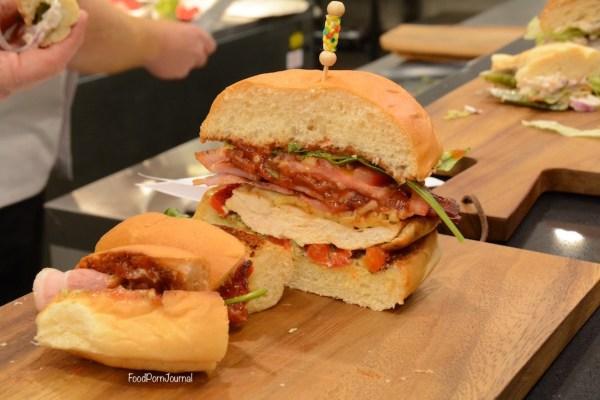 Hoi Polloi foodpornjournal burger half