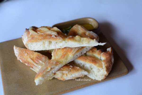 Italian and Sons Braddon garlic focaccia