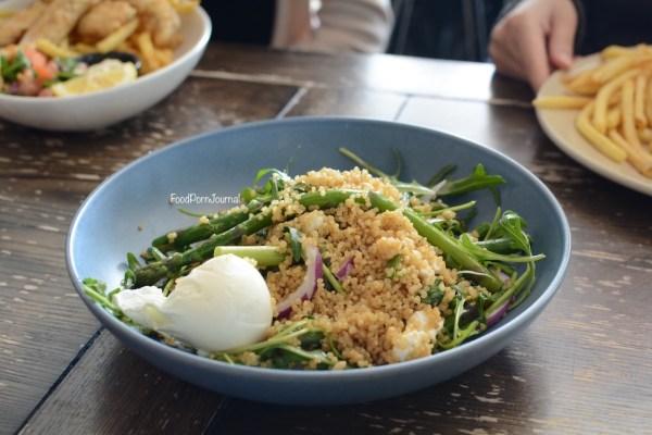 Walt and Burley Kingston quinoa salad