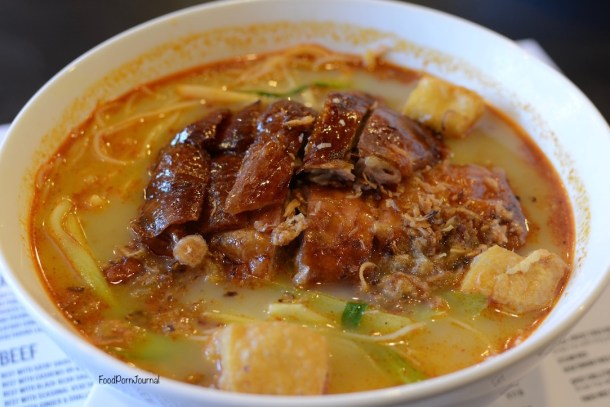 Orient Kitchen Weston Creek duck laksa
