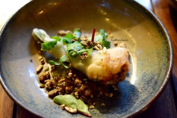 Pod Food Pialligo ricotta zucchini flower