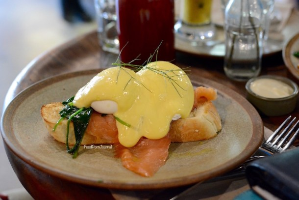 The Knox Made in Watson eggs benedict