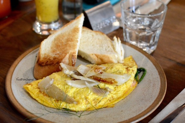 The Knox Made in Watson omelette