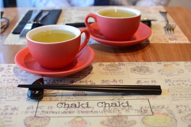 Chaki Chaki Braddon green tea