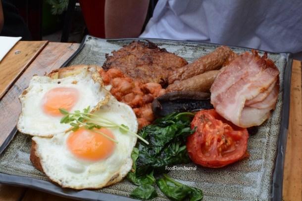 Frankies at Forde big breakfast