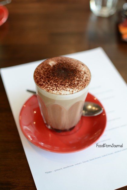 Remi Food & WIne Bar Canberra mocha