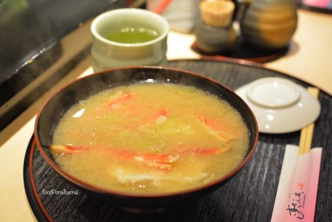 Tokyo Sushi Zanmai crab soup