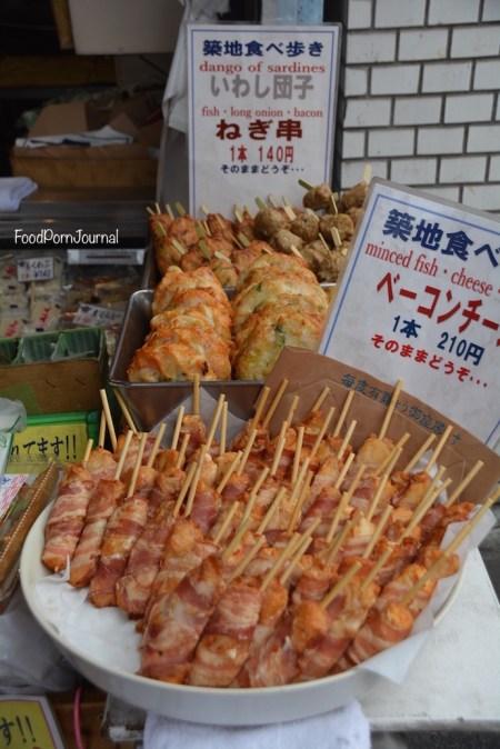 Tokyo Tsukiji skewers