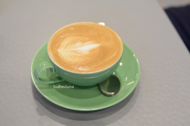 Hot Pop Cafe Braddon latte