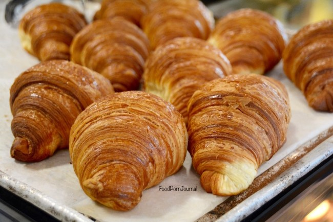 Three Mills Bakery croissants