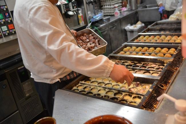 Tokyo Ameyoko Gindaco takoyaki